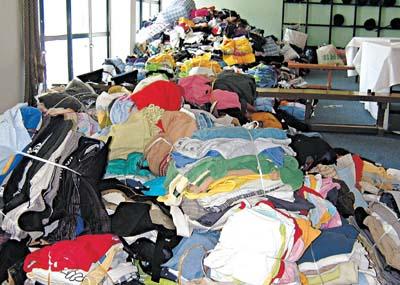 旧衣回收 回馈社会