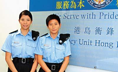 香港警察的装备无论是数量还是